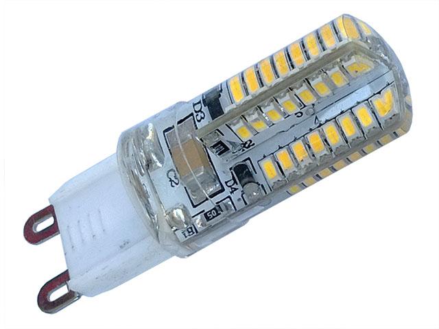 Bombilla de led 220v 280lumens 360 g9 cubierta de for Bombillas led g9 10w